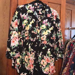 Chaps 3/4 blouse